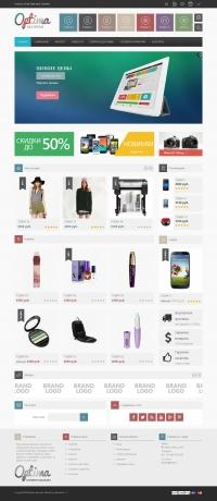 Готовый интернет-магазин (JE-VinaOptima)